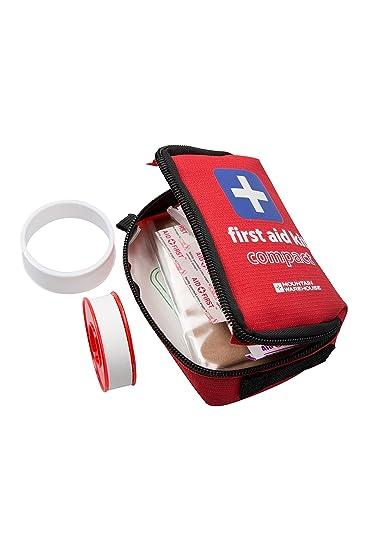 Mountain Warehouse Kompaktes Erste-Hilfe-Set Rot: Amazon.de: Küche ...