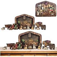 Auifor Puzzle en Bois, Meilleur Cadeau pour Adultes et Enfants - Puzzles Animaux Colorés - Pièces de Puzzle de Forme…