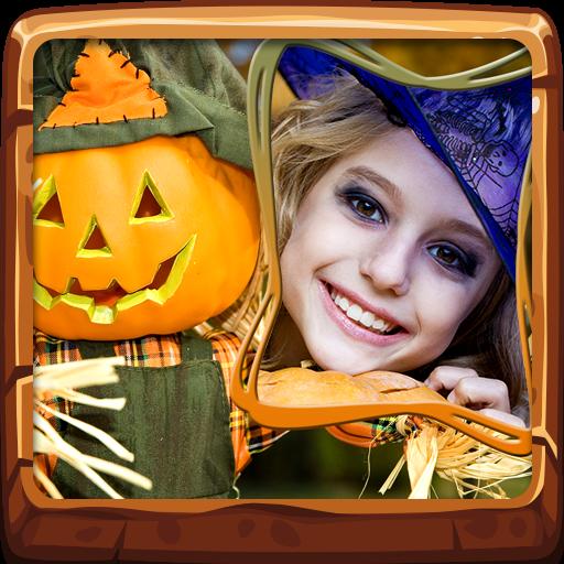 Halloween-Fotorahmen - Haben Sie Halloween-party Eine
