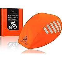 CRAFTCAGE® Fahrradhelm Regenschutz (Unisex) Wasserdicht Dank versiegelter Naht und PU Beschichtung I Regenschutz…