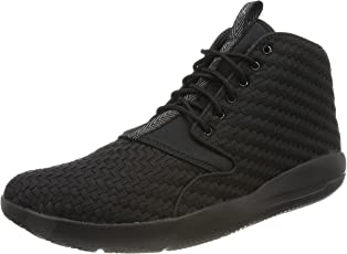 Nike Men's Jordan Eclipse Chukka Black and Cool Grey Synthetic Shoes - 9 US