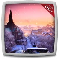Castle Snowfall HD - Wallpaper & Themes
