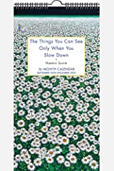 The Things You Can See by Haemin Sumin 16-Month  2018-2019 Fat Slim Wall Calendar Kalender
