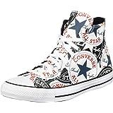 Converse Chuck Taylor all Star - Hi - Nero/Multi/Bianco Canvas