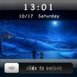 Silde To Unlock - Moon Locker