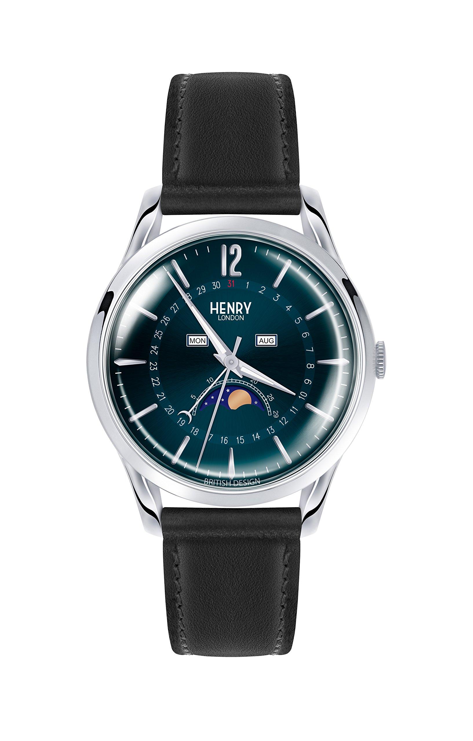 Henry London Unisex-Adult Leather Watch Strap HL39-LS-0071