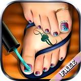 Pediküre Fußnägel Nagel Kunst : Pediküre Spiel für Mädchen ! KOSTENLOS