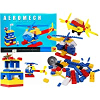 Wishmaster Aircraft Model Construction & Building Block Game Set for Boys & Girls | Toys for Gifting | Made in India…