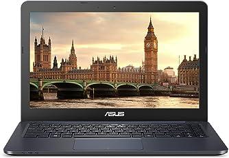 "ASUS L402WA-EB21 Thin and Light 14"" HD Laptop; AMD E2-6110 Quad Core Processor, AMD Radeon R2 Graphics, 4GB DDR3 RAM, 64GB eMMC Flash Storage, Windows 10 S with 1yr Office 365 Subscription Included"