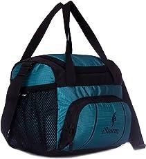 Istorm Polyester Multipurpose Lunch Bag (Green & Black)