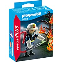 Playmobil Firefighter with Tree (Multi Color)