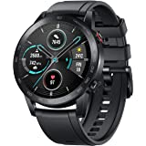 HONOR Magic Watch 2 (46mm, Charcoal Black) 14-Days Battery, SpO2, BT Calling & Music Playback, 100 Workout Modes, AMOLED Touc