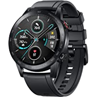 HONOR Magic Watch 2 (46mm, Charcoal Black) Smart Watch BT Calling & Music Playback, AMOLED Screen, 14 Days Battery, 15 Workout Modes, GPS, Sleep Monitor, HR Monitor, Smart Assistant, 5 ATM Water Proof
