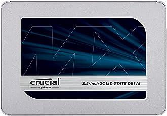 Crucial MX500 CT500MX500SSD1(Z) 500 GB Internes SSD (3D NAND, SATA, 2,5 Zoll)