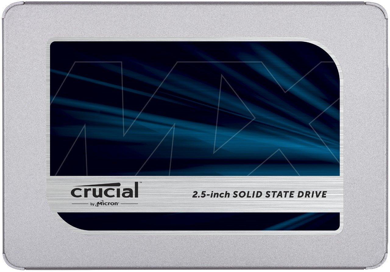 Crucial MX500 2TB CT2000MX500SSD1(Z) fino a 560 MB/s, SSD Interno, 3D NAND, SATA, 2.5 Pollici
