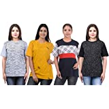 SHAUN Women Half Sleeve T-Shirt