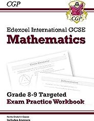 New Edexcel International GCSE Maths Grade 8-9 Targeted Exam Practice Workbook (includes Answers)