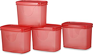 All Time Plastics Sleek Container Set, Set of 4