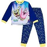 SpongeBob Squarepants Pijama oficial de Bob Esponja para niños de 3 a 12 años