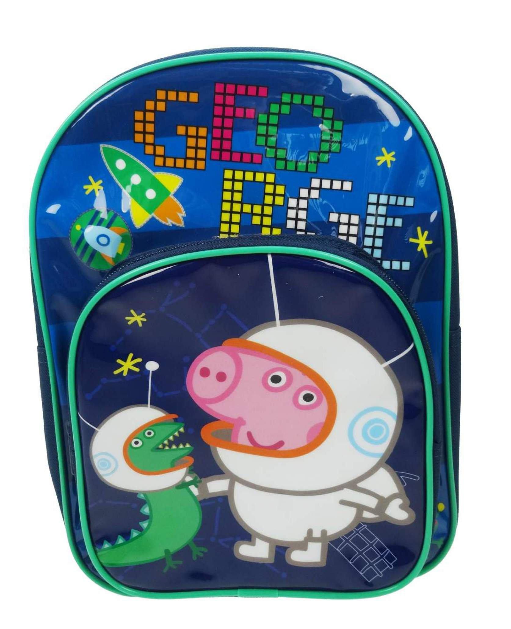 81TpgEdU1uL - Peppa Pig PEPPA001320 - Mochila infantil, 10 litros, color azul marino