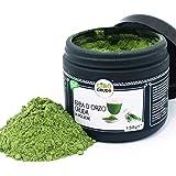 CiboCrudo Erba di Orzo in Polvere Biologica Cruda, Barley Grass Powder – 150gr – Erba di Grano in Polvere Biologica, Farina d