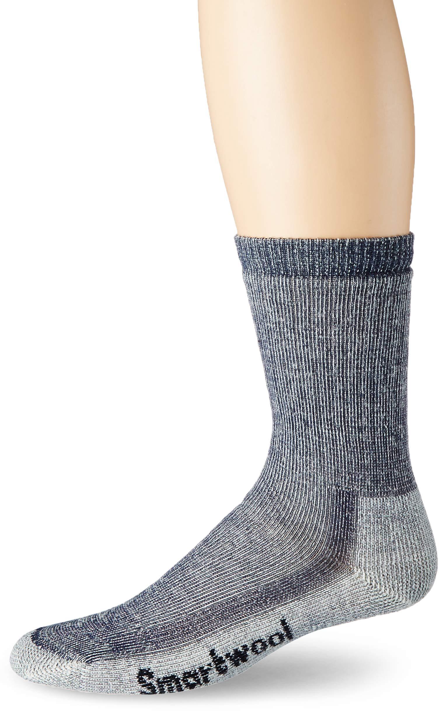 81Tr3LzSlVL - Smartwool Adult Hike Medium Crew Socks