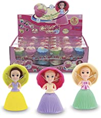 Mini Cupcakes Surprise Doll Pack 3 Pcs (Assorted Colors), As Seen on TV
