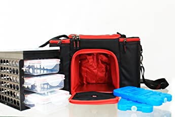 IShake Meal Management Plastic Sports Bag, 800ml (Black)