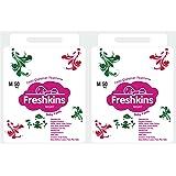 Freshkins Baby Night Diaper Pant Medium - (Pack of 2, 100 Unit)