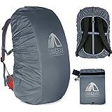 Unigear Regenschutz für Rucksäcke Schulranzen mit Reflektor, wasserdichte Regenhülle Rucksack Cover regenüberzug für Camping