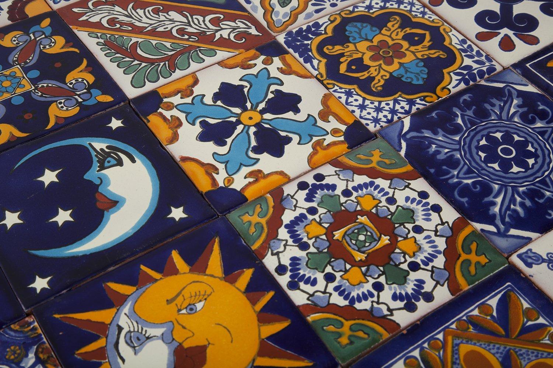 Horacio piastrelle messicane patchwork piezzi cm