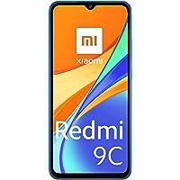 """Xiaomi Redmi 9C Smartphone 2GB 32GB 6.53"""" HD+ Dot Drop Display 5000mAh (typ) AI Face Unlock 13 MP AI Triple Kamera Blau"""
