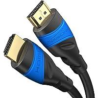 KabelDirekt – 0,25 m – 4K HDMI-Kabel (4K@120Hz & 4K@60Hz – spektakuläres Ultra-HD-Erlebnis – High Speed mit Ethernet…