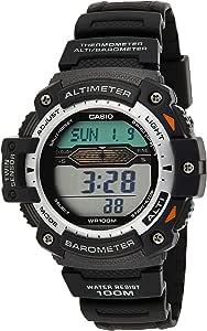 Casio Orologio Digitale al Quarzo Uomo con Cinturino in Resina SGW-300H-1AVER
