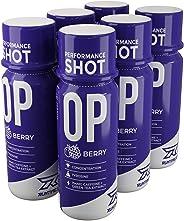 Runtime OP Energy Shot, Performance Boost für Konzentration, Wachheit und Leistung | 154mg Koffein + Tyorisin + Grüntee-Extra