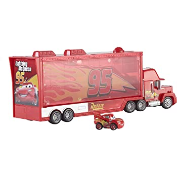 Smoby Disney Cars 360208 Mack Truck Trolley Amazoncouk Toys Games