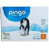 Pingo - Pañales Talla 3 Midi - 2 paquetes de 44 unidades- 4-9 kg -Pañales para bebé - Anti-alergénicos sin perfume - Máxima A