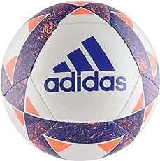 Adidas White Blue Men's Star lancer V Football