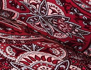 Cornasee Copridivano Clic Clac 3 Posti,Fodera per cuscino elastica de di stampa floreale per divano letto pieghevole senza braccioli
