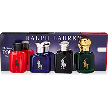 Toilette4x15ml Fragrance CoffretblackBueGreenRed De Lauren World Of Ralph Polo The Eau 6fgYb7y