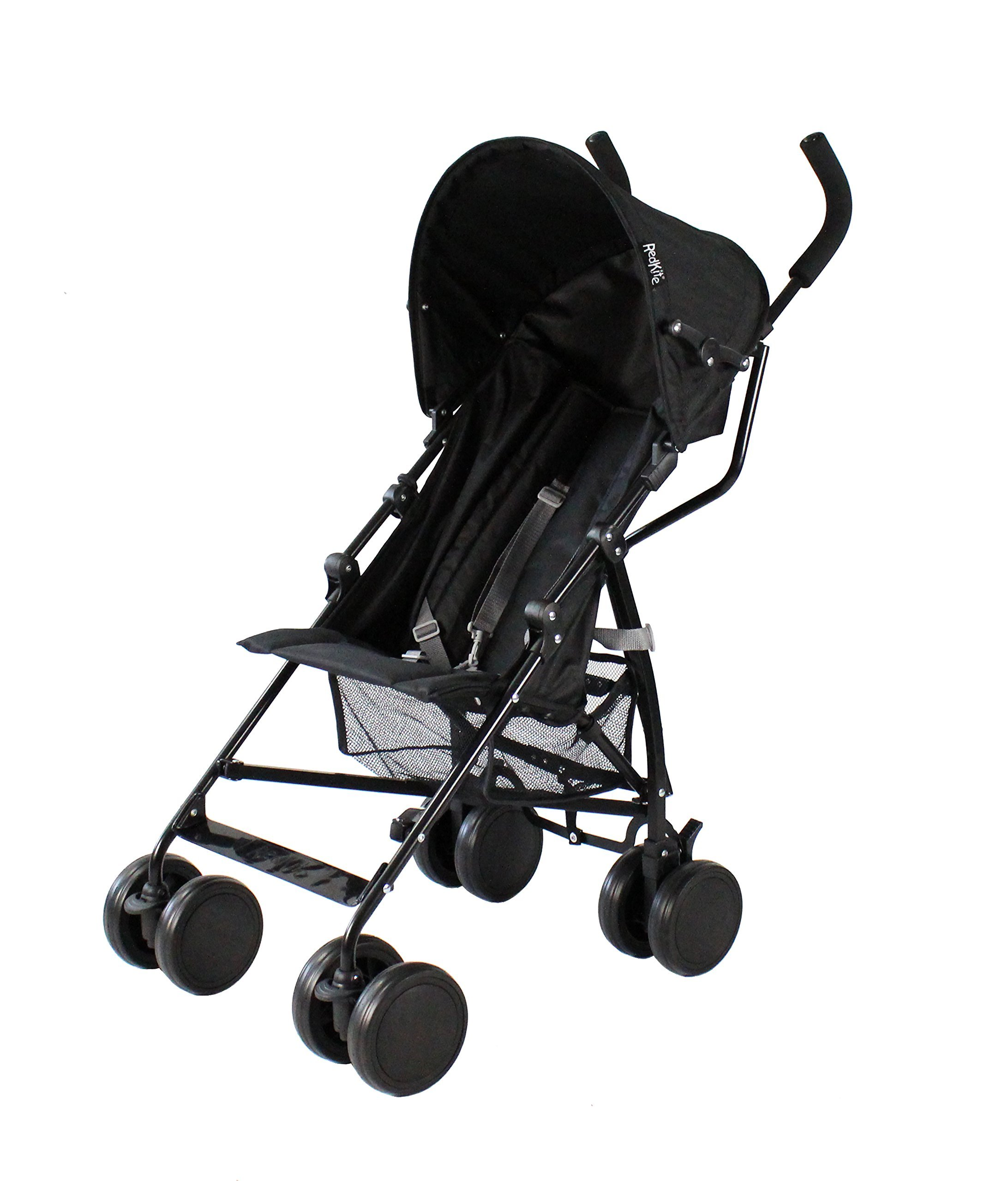 Red Kite Baby Push Me 2U (Midnight) Red Kite Baby Suitable from 6 months Includes shopping basket and raincover Lockable front swivel wheels. Detachable hood 1