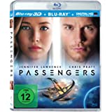 Passengers: Blu-ray 3D + 2D