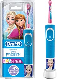 Oral-B Stages Power Kids Rechargeable Electric Toothbrush, Frozen with Disney Magic Timer app