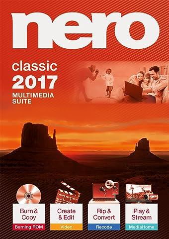 Nero 2017 Classic [Téléchargement]