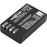 ANSMANN Li-Ion 7,4 V kamerabatteriersättning för D-Li109 [paket med 1] kompatibel med Pentaxkameror inklusive Pentax KP, K-30