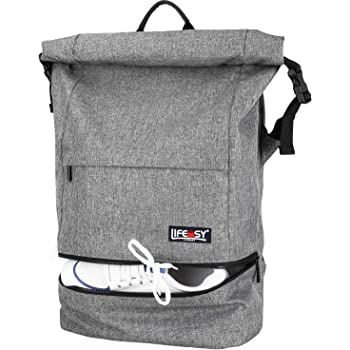 f9cca928893b Vans Fend Roll Top Backpack Casual Daypack