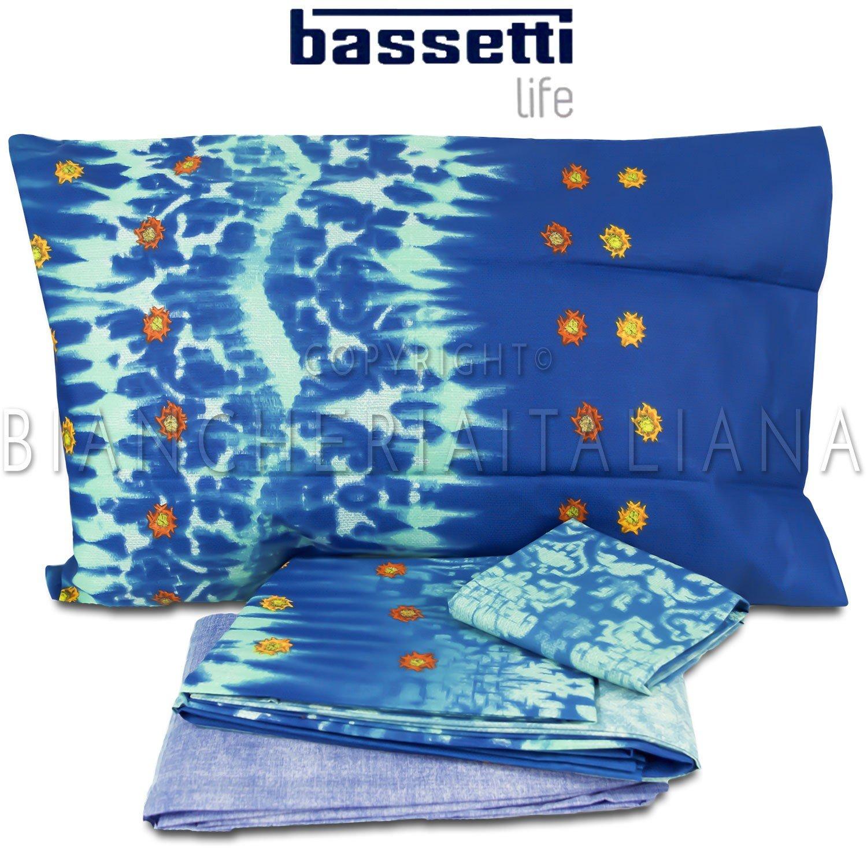 Bassetti LIFE Completo Copripiumino Singolo CHELSEA (BLU)