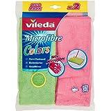 Vileda Microfibre Pack de 2 Serpillières Colors