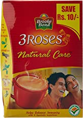 Brooke Bond 3 Roses Natural Care Dust Tea, 250g