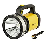 AmazonBasics Rover Rechargeable Beemer Torch, Yellow